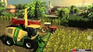 Farming Simulator 2011 Platinum Edition Silózás