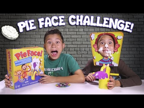Thumbnail: PIE FACE CHALLENGE!!! Messy Whipped Cream in the FACE Game!