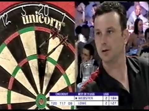 Darren Webster vs. John Lowe - Second Round - 2003 PDC UK Open
