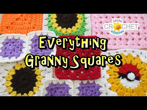 Everything Granny Squares – InStitches Family Crochet Party 35