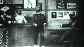 """Early vaudeville comedy routine - """"Alphonse and Gaston"""" (1903)"""