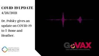 COVID 19 Update 4-28-2021