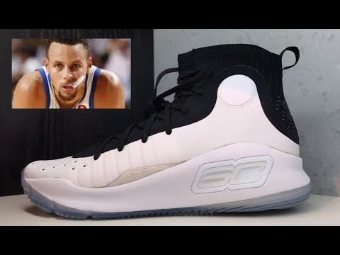 90737a1a3181 STEPH CURRY 4 SNEAKER REVIEW BY UNDER ARMOUR - YouTube