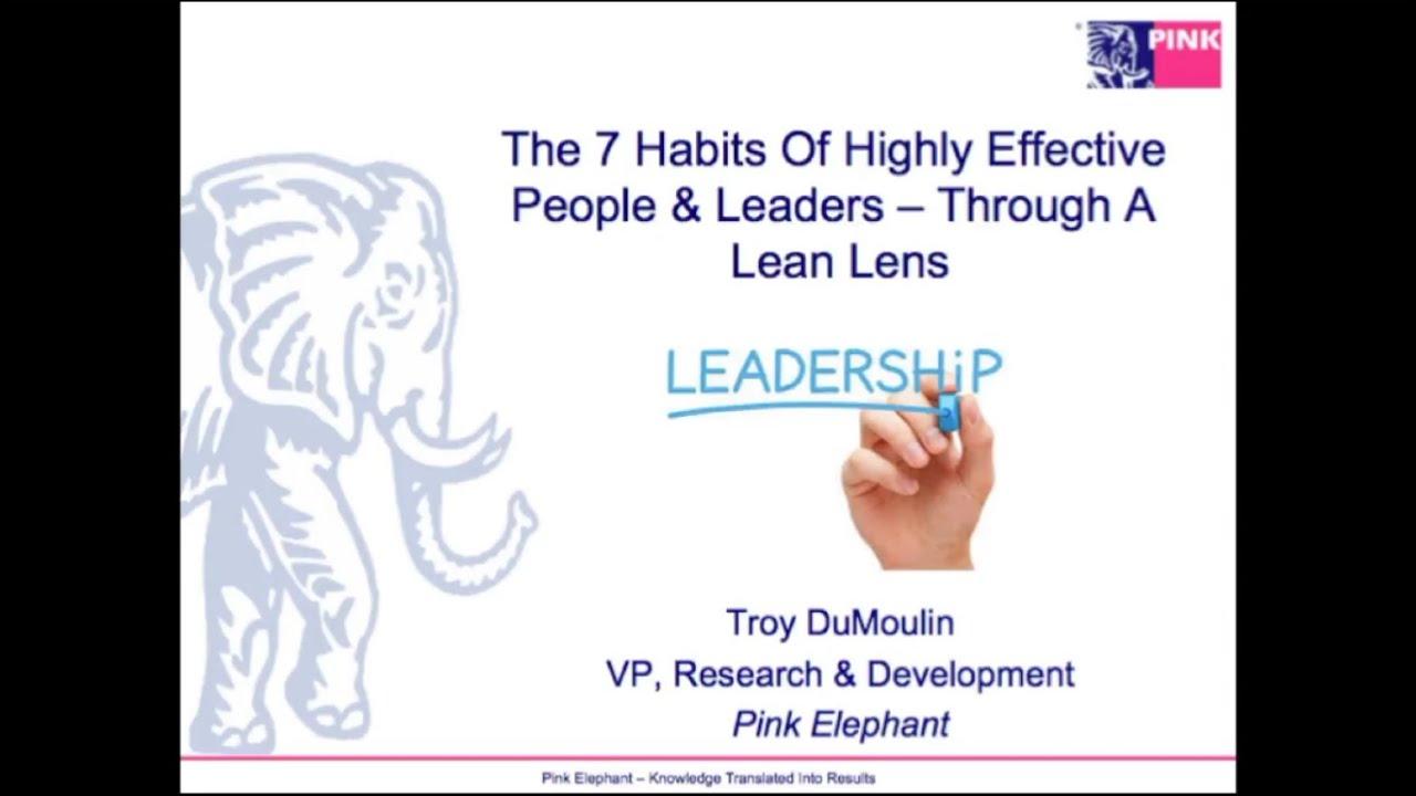 habits of effective leaders pdf