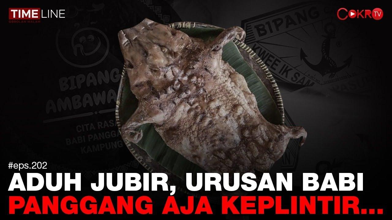 Denny Siregar: ADUH JUBIR, URUSAN BABI PANGGANG AJA KEPLINTIR..
