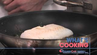 "What's Cooking- ""pan-seared Cod With Tomato Piperade"""