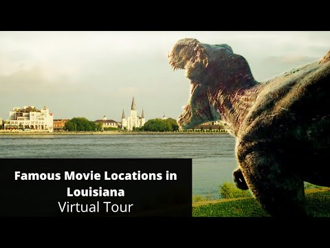 Famous Movie Locations in New Orleans, Louisiana (Aerial Tour)