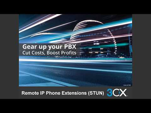 REMOTE IP PHONE EXTENSION (STUN) V15.5