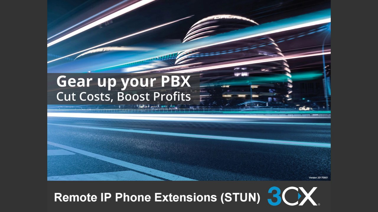 3CX Intermediate Certification: 6  Remote IP Phone Extension (STUN) V15 5