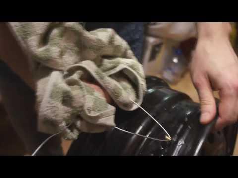 Как крепится датчик давления в шинах