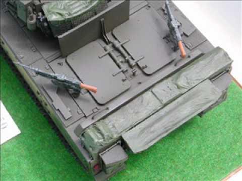 Advance Professional Model Tank Making -Building from Scratch-1/15 scale Bionix 40/50  model