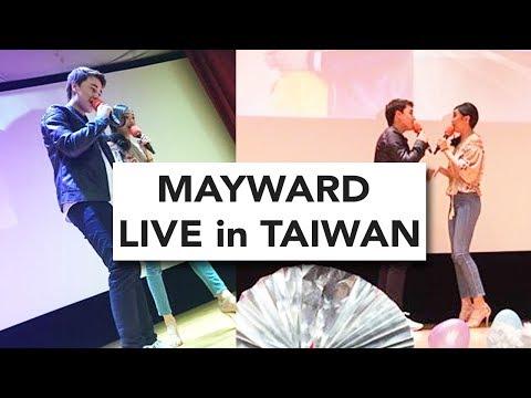 FULL VIDEO: MayWard Live in Taiwan - Maymay Entrata and Edward Barber