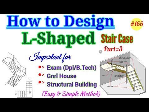 Design of stair | Staircase | Design of staircase | Stair