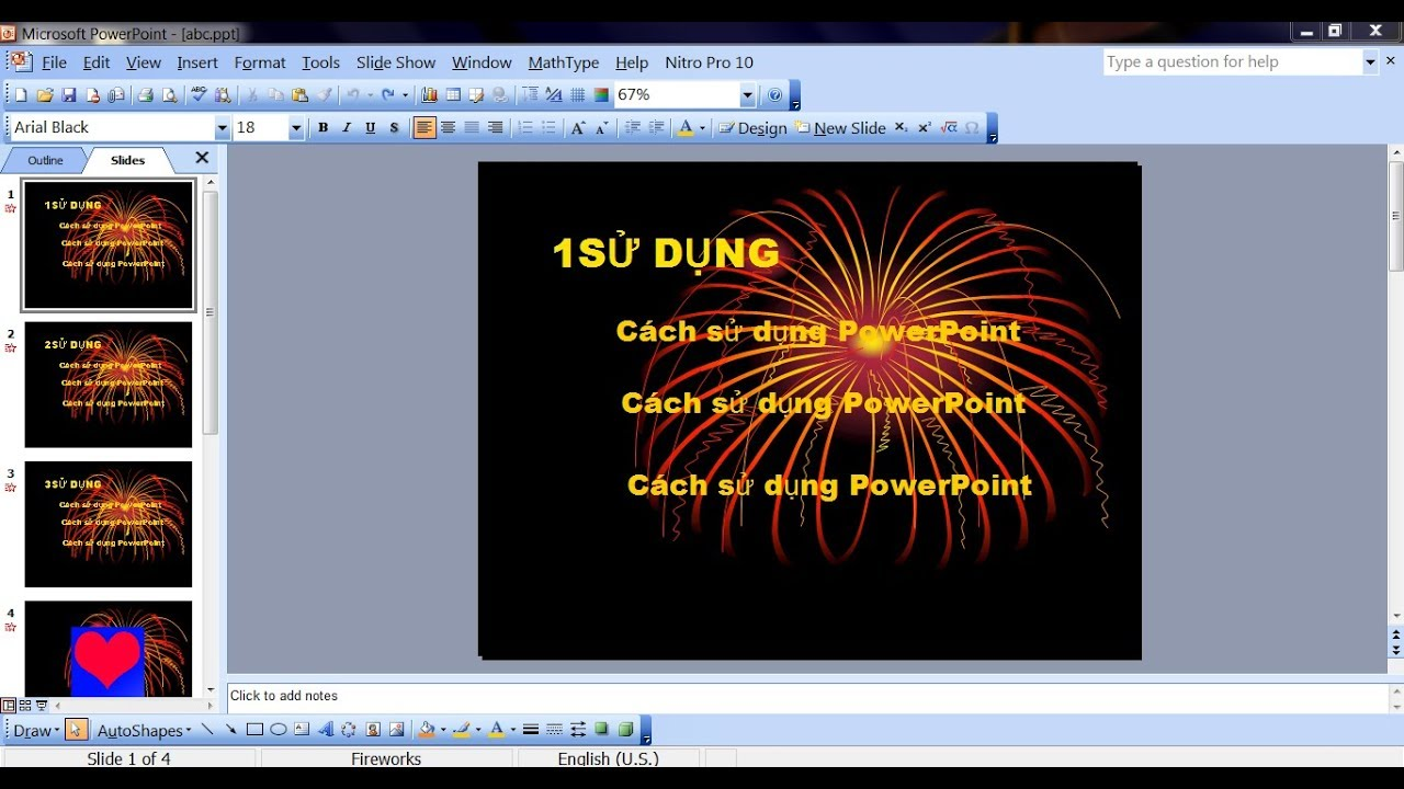 Cách sử dụng PowerPoint 2003 chi tiết (How to use PowerPoint 2003)