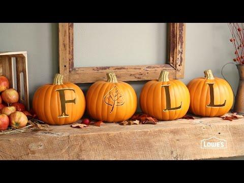 Carve Faux Pumpkins for Lasting Results