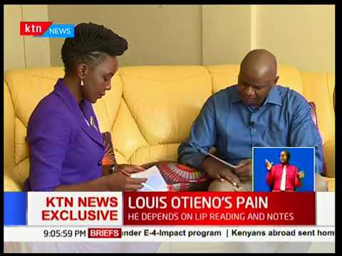 Exclusive interview with former News anchor Louis Otieno