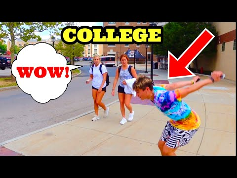 FLIPPING VS COLLEGE STUDENTS!