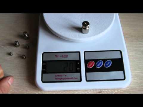 Цифровые весы SF-400. Китайские кухонные весы.