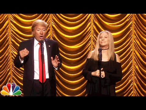 Barbra Streisand Duets with Donald Trump