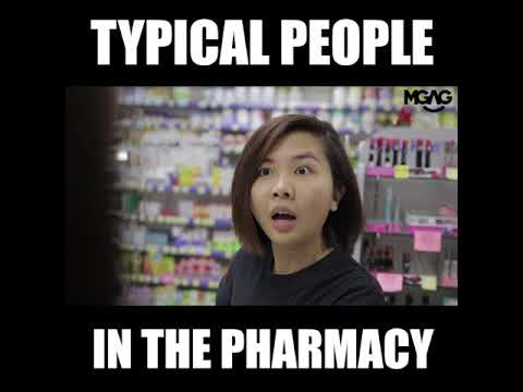 TYPICAL PEOPLE IN THE PHARMACY