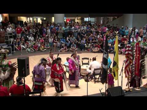 LIving Earth Festival: The Pokagon Drum & Dance Troupe 2