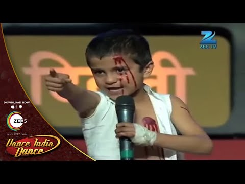 Sachin EXTRAORDINARY DANCE  - DID L'il Masters Season 3