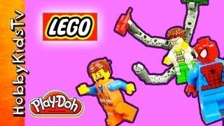 Emmet and SPIDER-MAN Meet Doc Octopus by HobbyKidsTV thumbnail