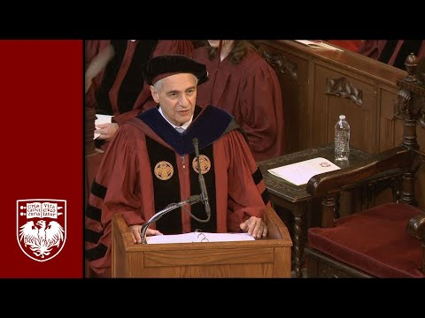 The 524th Convocation, University Ceremony - The University of Chicago