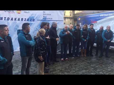 Presentación de  Galimplant, o equipo galego que correrá o Dakar