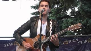 Andy Grammer - Chasing Cars (Snow Patrol cover) (Buffalo, NY 6/27/2012)
