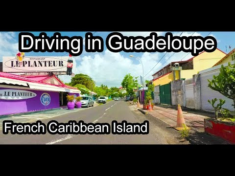 Guadeloupe - French Caribbean Island - Driving to the West C