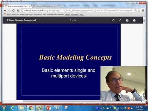 Basic concepts of Bond Graph modeling 2812016 1825 36