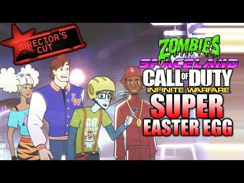 SUPER EASTER EGG DIRECTORS CUT - Zombies In Spaceland - Infinite Warfare - PT 1