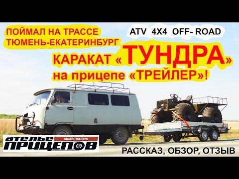 Тюменский каракат ТУНДРА в прицепе ТРЕЙЛЕР! Поймал на трассе! Рассказ, отзыв, обзор