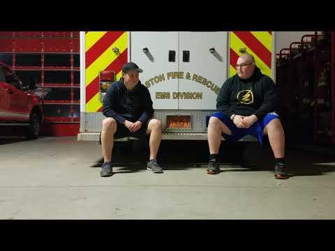 Back to Bolt episode 7 part 2: Gaston firefighter Dylan Clark.
