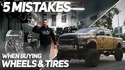 5 MISTAKES When Buying Wheels & Tires