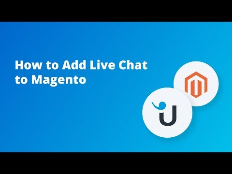 How To Add Live Chat To Magento
