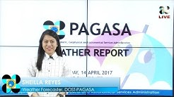 Public Weather Forecast Issued at 5PM Update April 14, 2017