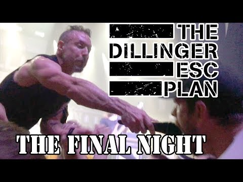 Clips Of Dillinger Escape Plan FINAL NIGHT EVER