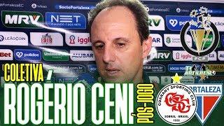[Cearense A '19] Coletiva Rogério Ceni   Pós-jogo Guarany SC 0 X 1 Fortaleza EC   TV ARTILHEIRO