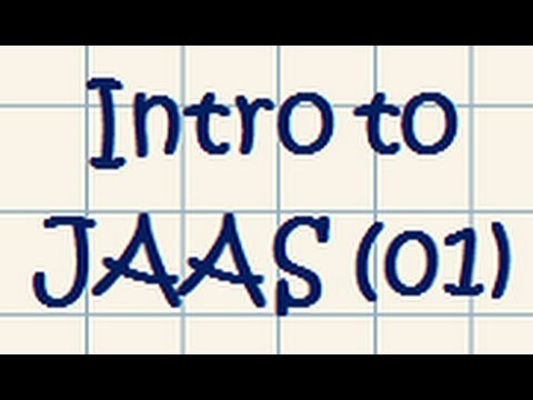 JAAS (Java Authentication and Authorization Service) - Tutorial 01
