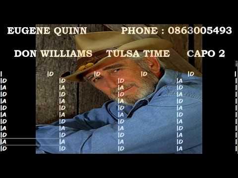 DON WILLIAMS ....... TULSA TIME.avi