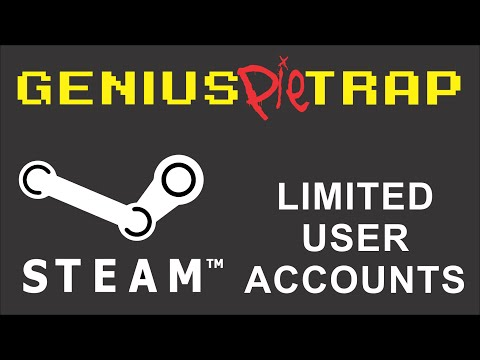 Steam Limited User Accounts