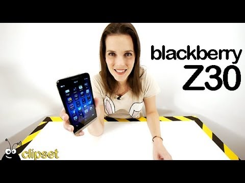 BlackBerry Z30 review Videorama