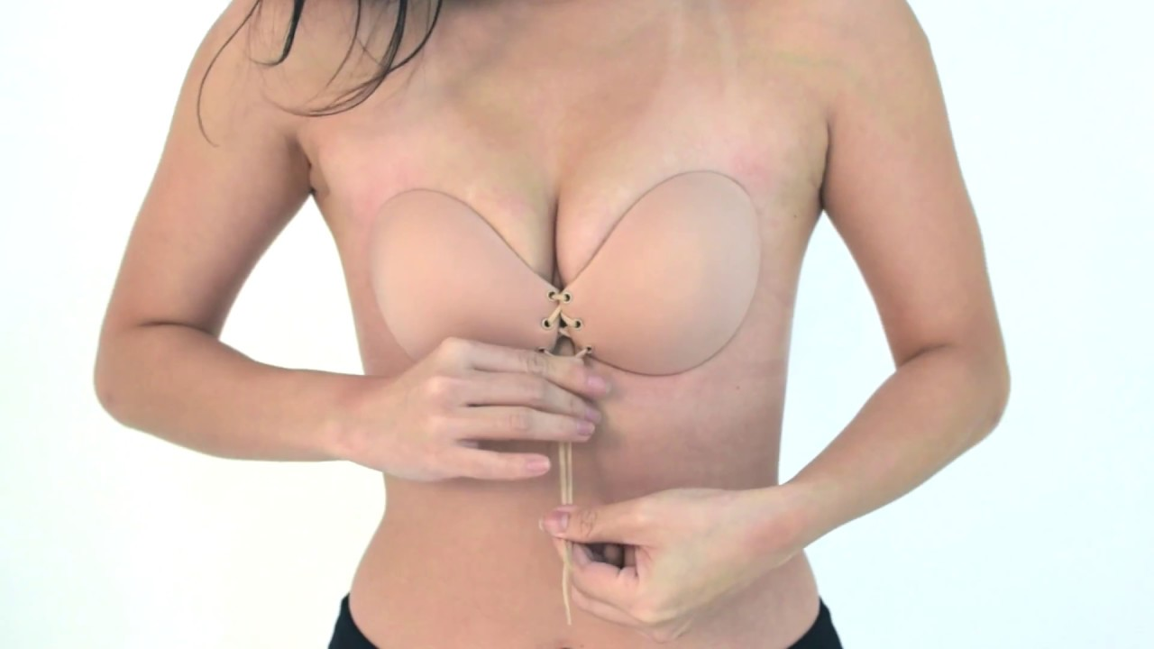 a210295854ee9 The Adjustable Push Up Invisible Bra - YouTube