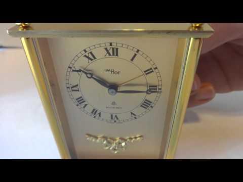 IMHOF Reuge musical alarm clock