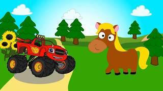 ВСПЫШ и чудо животные  Песенка про животных для детей  Как говорят животные