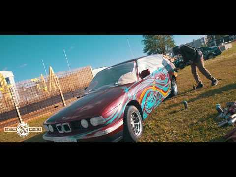 Slowball 2017- Car Painting Session at Laine Klubi in Tallinn, Estonia