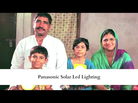Panasonic Solar LED Hindi