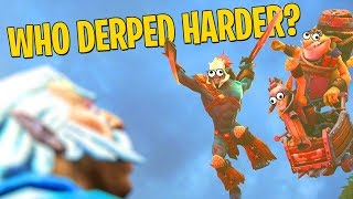 Who Derped Harder? Techies or Huskar? - DotA 2